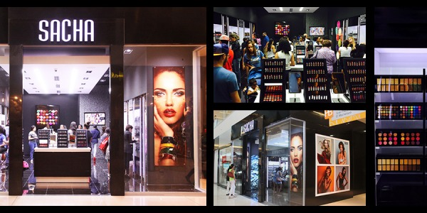Metromall welcomes Sacha Cosmetics!