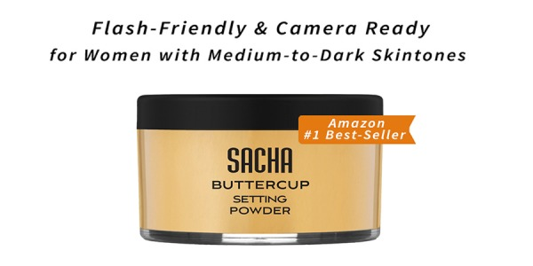 Amazon #1 Best Selling Face Powder | Sacha Cosmetics