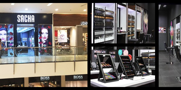 New Sacha Store located in the ultra-exclusive Multiplaza Mall in Panama City | Sacha Cosmetics